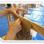 アンギン編みに挑戦